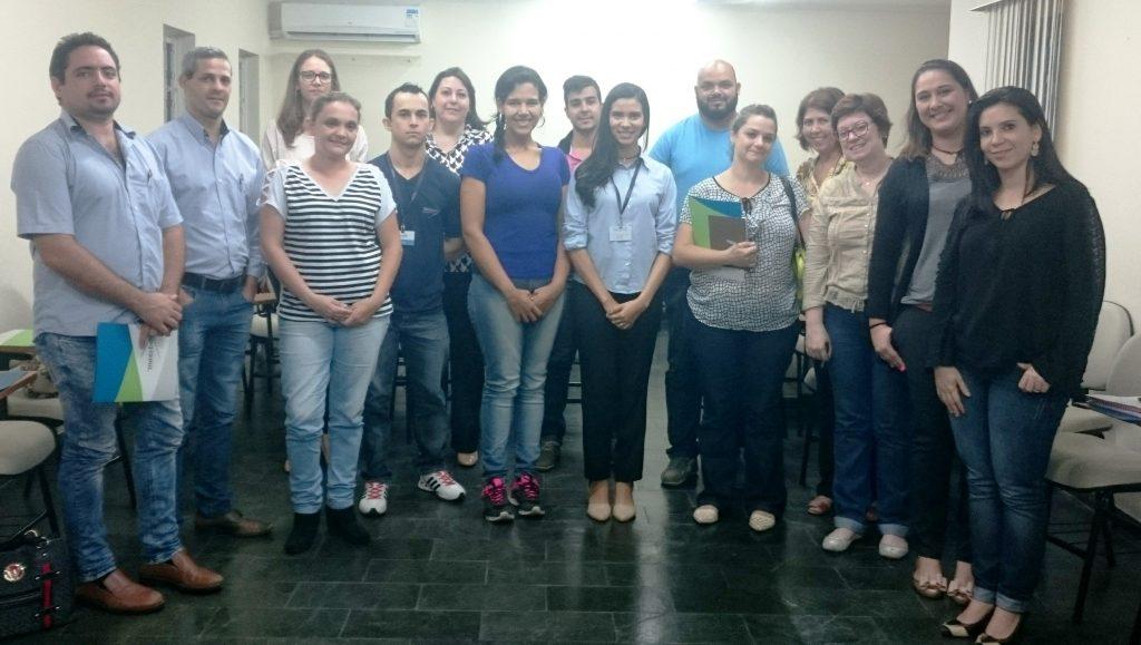 Participantes do 3º Workshop e-SUS AB integrado ao Prontuário Eletrônico do Cidadão.