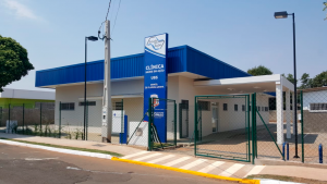 Fachada: USB - Clínica Saúde e Ação - Manuel de Oliveira Azenha - Nova Odessa SP